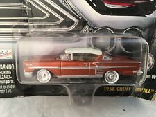 Johnny Lightning American Chrome 1958 Chevy Impala - Rough Card