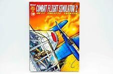 CFS2 Microsoft Combat Flight Simulator 2  WWII Pacific Theater Big Box PC MANUAL