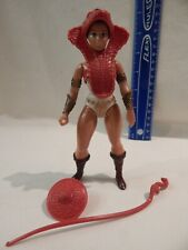He-Man MOTU Masters Universe TEELS BROWN HAIR / BOOTS Complete Firm Stands Holds