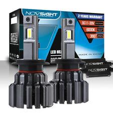 NOVSIGHT 2x H7 LED Headlight Bulb Conversion Kit 15000LM 80W 6000K Cool White