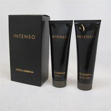 INTENSO by Dolce & Gabbana 2 Pc: 1.6 oz After Shave Balm & 1.6 oz Shower Gel NIB