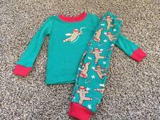 Gymboree Boys Ninja Bread Gingerbread Christmas Holiday Pajamas PJs NWT Size 10
