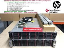 HP DL380p Gen8 2x E5-2670 256GB D2700 30TB DAS Server Configuration