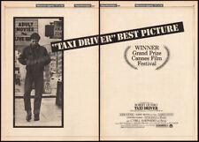 TAXI DRIVER__Original 1976 Trade AD promo_poster__MARTIN SCORSESE_ROBERT DE NIRO