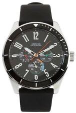 New AUTHENTIC  Guess Men's U95138G1 Black Rubber strap , black dial Quartz Watch
