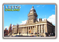 LEEDS ENGLAND UK FRIDGE MAGNET SOUVENIR IMÁN NEVERA