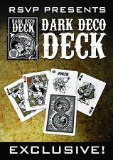CARTE DA GIOCO  DARK DECO,poker size