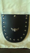 Universal Motorcycle Front Flap for Harley Davidson or Metric STUDS & CONCHO