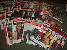 1990S ENTERTAINMENT WEEKLY MAGAZINE LOT OF 25 ISSUES CELEBRITY COVERS - PB 1098