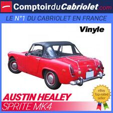 Capote Austin Healey Sprite MK4 cabriolet - Toile vinyle (1967/1970)