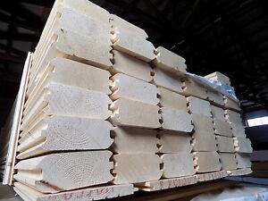 Blockbohle 70x163 mm Fichte,Profilholz,Bauholz,Blockhausprofil,Sauna,Hausbau