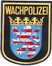 State Police Hessen Wachpolizei Germany International Police Patch NEW!!
