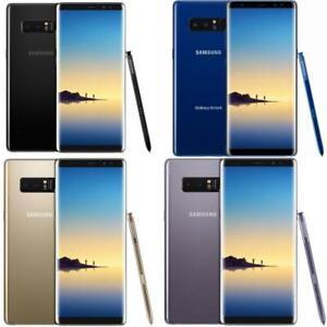 Samsung Galaxy Note 8 - Unlocked - Black/Grey - N950U - 64GB - Smartphone