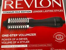 Revlon Titanium Max Edition One-Step Volumizer Max Root & Body.Used.