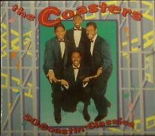 2erCD THE COASTERS - 50 coastin' classics