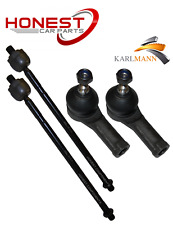 For FORD TRANSIT 2002> FRONT INNER & OUTER TRACK TIE ROD ENDS 2 PAIRS Karlmann