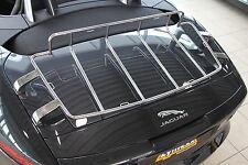 Gepäckträger Edelstahl hochglanz poliert passend für Jaguar F-Type