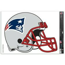 "NEW ENGLAND PATRIOTS MULTI-USE DECAL 11""x17"" SHEET PERFECT FORWINDOWS"