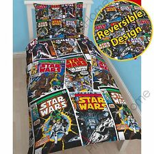 STAR WARS ISSUES SINGLE DUVET COVER SET - CHILDRENS BEDDING OFFICIAL NEW