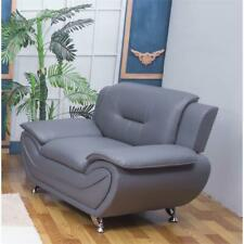 Kingway Furniture Ashely Living Room Chair in Gray