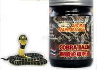 Original Thai Massage Cobra Balm, Arthritis and Arthrosis Pain Relief 50g