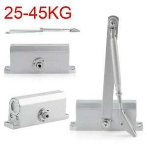 25~45KG Households Duty Adjustable Overhead Soft Door Closer & Door Opener Steel