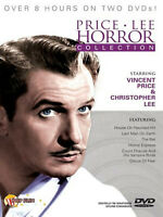 Vincent Price and Christopher Lee Horror Collection   2-DVDs  **NEW**