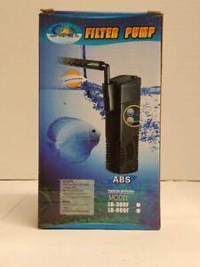 Super-LB-600F Internal Power Aquarium Filter 158gph Up to 15 Gallon Fish Tank