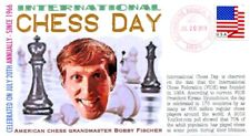 COVERSCAPE computer generated International Chess Day 2018 event cover
