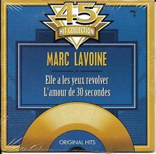 CD CARDSLEEVE  MARC LAVOINE 2T ELLE A LES YEUX REVOLVER + L'AMOUR DE 30 S NEUF S
