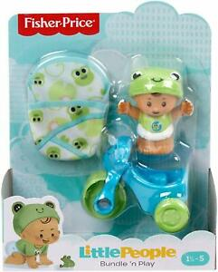Little People Bundle 'n Play Baby FIgure and tricycle *pkg damage*