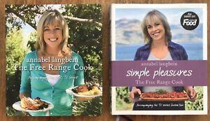 Annabel Langbein The Free Range Cook & Simple Pleasures ABC TV Series Hardcovers