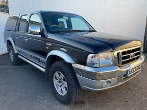 2003 FORD RANGER 2.5 THUNDER 107 BHP DOUBLE CAB PICK UP - PX CLEARANCE