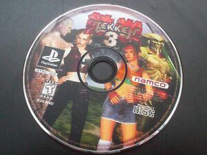 TEKKEN 3 - SONY PLAYSTATION 1 PS1 NTSC DISC