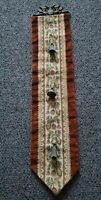 Vintage Floral Bell Pull Tapestry Velvet Door Hanging Wall Decor
