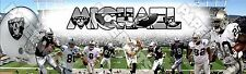 Custom Name Design NFL Football Oakland Raiders Personalized Name Poster