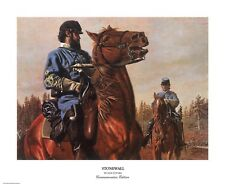 """""""Stonewall"""" Don Stivers Limited Edition Commemorative Giclee Print"""