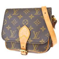 Auth LOUIS VUITTON Mini Cult Sierre Shoulder Bag Monogram Leather M51254 13MF380