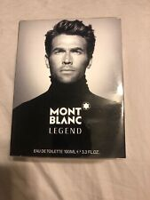 Mont Blanc Legend perfume For Men 3.3 / 3.4 oz 100 ml edt New in box sealed