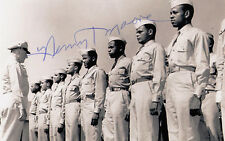 Tuskegee Airman WWII 1943-1945 Henry Moore Italy 302nd F.S. SIGNED 4x6 PHOTO
