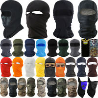 Camo Balaclava Motorcycle Winter Fleece Ski Full Face Mask Cover Hat Cap Helmet
