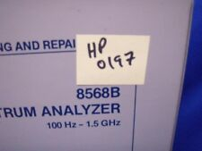 HP 8568B  Analyzer Troubleshooting & Repair Manual V1