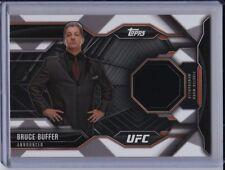 Bruce Buffer 2015 Topps UFC Chronicles Relic Card Ring Announcer CR-BB