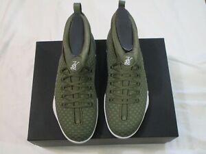 Nike Air Jordan 15 Retro PSNY Woven Public School Olive US Men Sz 10.5 Sneakers