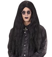 Eastbourne Ozzy Osbourne Look Parrucca Vampiro Gotico Emo Grunge Goth