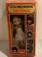Little Miss Marker Doll With Original Box By Ideal 1382-1