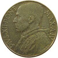 VATICAN 10 CENTESIMI 1942 TOP RARE #t99 261