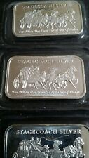 Lingot en argent Stagecoach NWTM divisible 1 oz silver bar .999 sealed