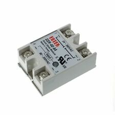 Solid State Relay Module SSR-40AA 40A 250V 80-250V DC Input 24-380VAC Output