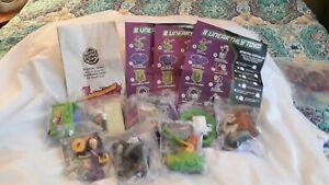 DANNY PHANTOM toy set (all 8) Burger King BK Nickelodeon Nicktoons (2005) SEALED